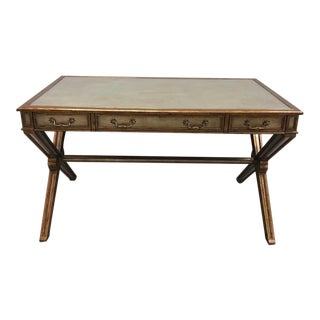 Eglomise Writing Desk For Sale