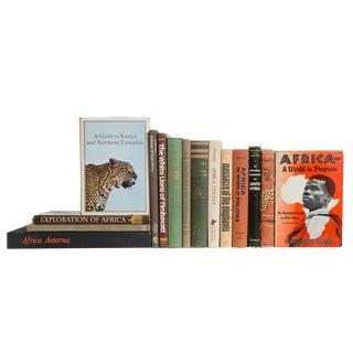 African Safari Book Set, (S/15) For Sale