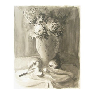 Ink Wash Still-Life by Chanson For Sale
