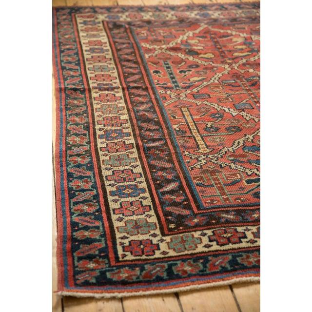 "Old New House Vintage Kurdish Square Carpet - 5'5"" X 6'2"" For Sale - Image 4 of 12"