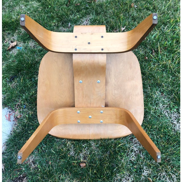 Eames 5-2-5 Lcw 1950's Herman Miller Chair For Sale - Image 6 of 7
