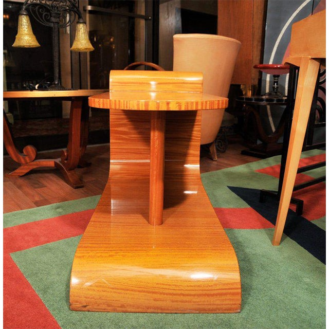 Unusual Art Deco Occasional Table For Sale - Image 9 of 10