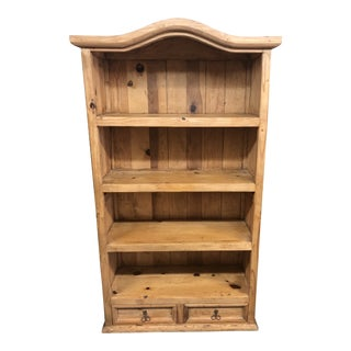 Rustic Oak Bookshelf For Sale