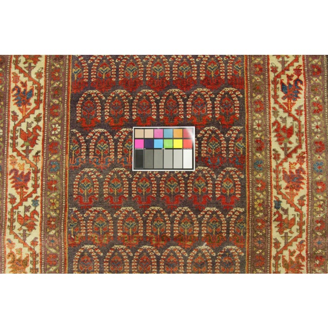 1920's Twin Antique Persian Rug Malayer Design Circa 1920's - 3′5″ × 19′8″ For Sale - Image 10 of 11