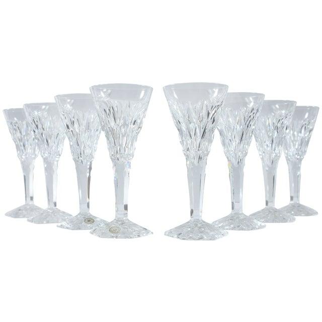Val St Lambert Belgium Cordial Glasses - Set of 4 - Image 1 of 4