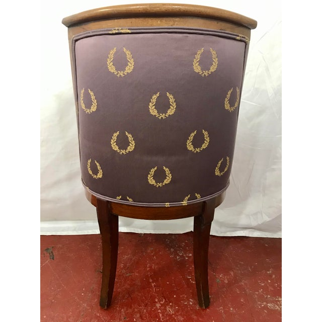 Early 19th Century French Empire Side Chairs, a Pair For Sale - Image 5 of 12