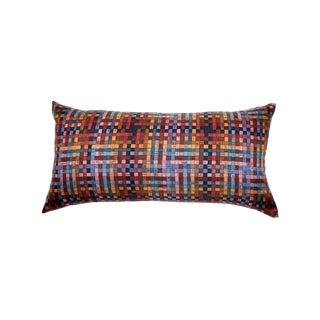 """Bolduc Au Carre"" Hermès Silk Scarf Pillow For Sale"