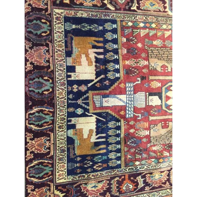 Quashaghi Persian Rug - 5' x 7' - Image 6 of 7