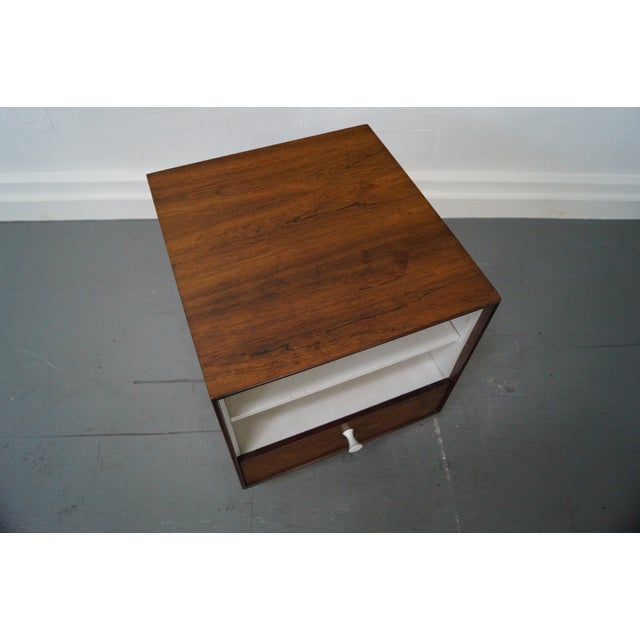George Nelson Miller Rosewood Nightstands - Pair - Image 10 of 10