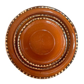Mexican Terra-Cotta Bowls - Set of 3 Preview