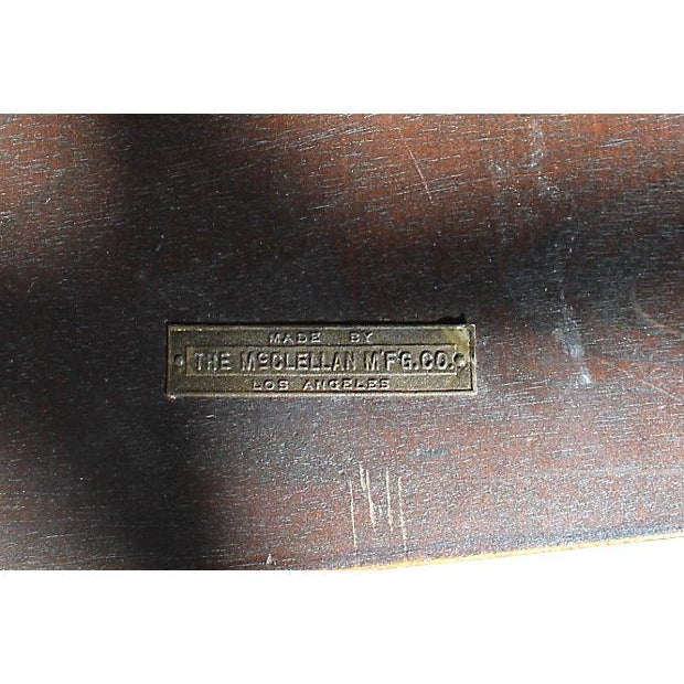 Antique McClellan Mahogany Console Table - Image 7 of 7