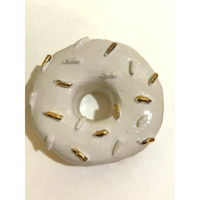 Ceramic Wall Donuts - Set of 3 For Sale In Charleston - Image 6 of 10