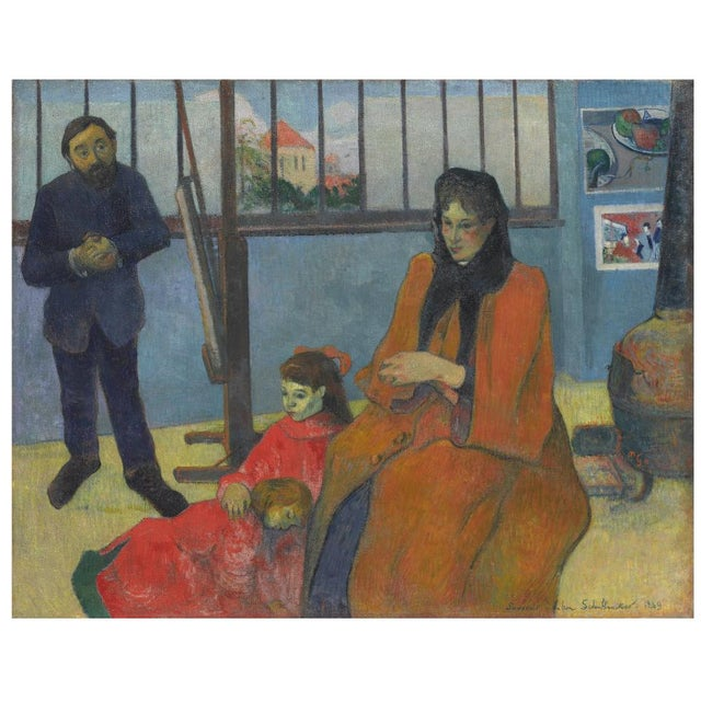 'La Ramasseuse De Varech' by Claude Emile Schuffenecker, 1883; Young Bretonne Kelp Gatherer, Paul Gauguin For Sale - Image 12 of 13