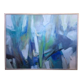 1960s Abstract Anton Henry Dahl Painting For Sale