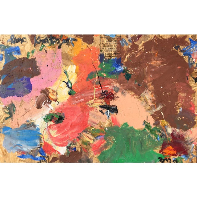 'Sky Rockets' Abstract Oil Painting by Sean Kratzert For Sale In New York - Image 6 of 6