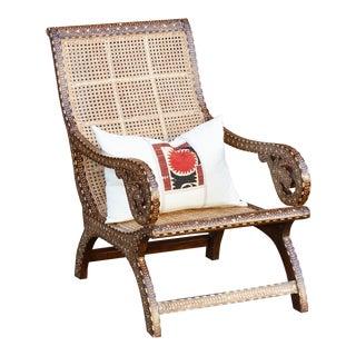 Vintage Bone Inlay West Indies Chair Preview