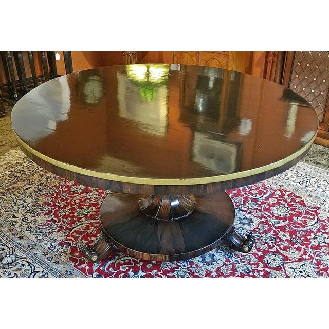 British Regency Tilt Top Center Table For Sale - Image 9 of 9