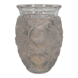 Lalique Bagatelle Vase Clear Crystal For Sale