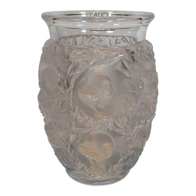 Lalique Bagatelle Vase Clear Crystal For Sale