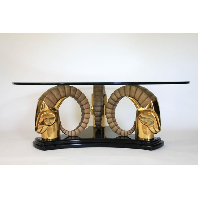 Rams Head Coffee Table For Sale - Image 11 of 11