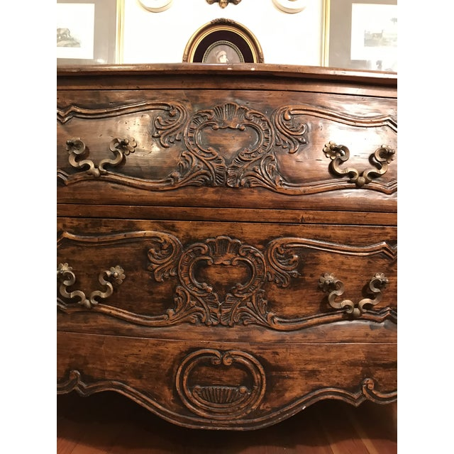 18th Century Style Carved French Provincial Dresser For Sale - Image 11 of 13