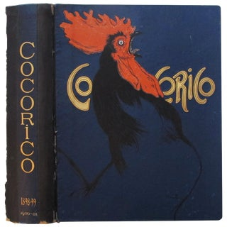 1902 Vintage Steinlen Cocorico Magazine Cover For Sale