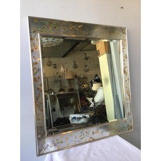 La Barge Floral Silver Leaf Mirror Preview