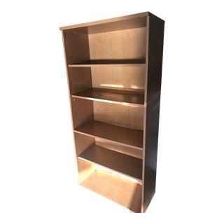 Cherry Laminated Wood Finish, 5 Adjustable Shelf Bookcase