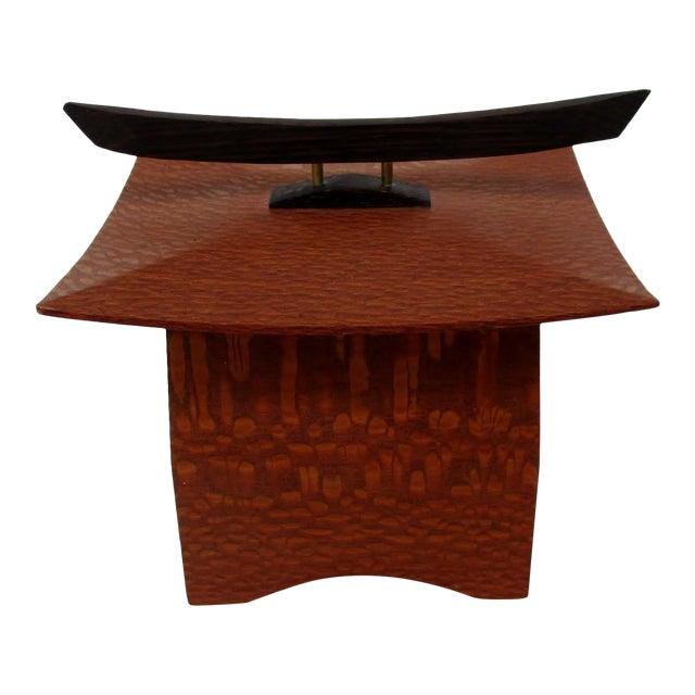 Japanese Maple Pagoda Box - Image 1 of 8