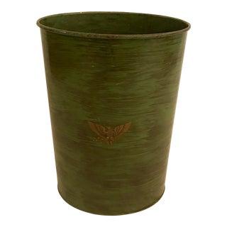 Federal Eagle Waste Basket For Sale
