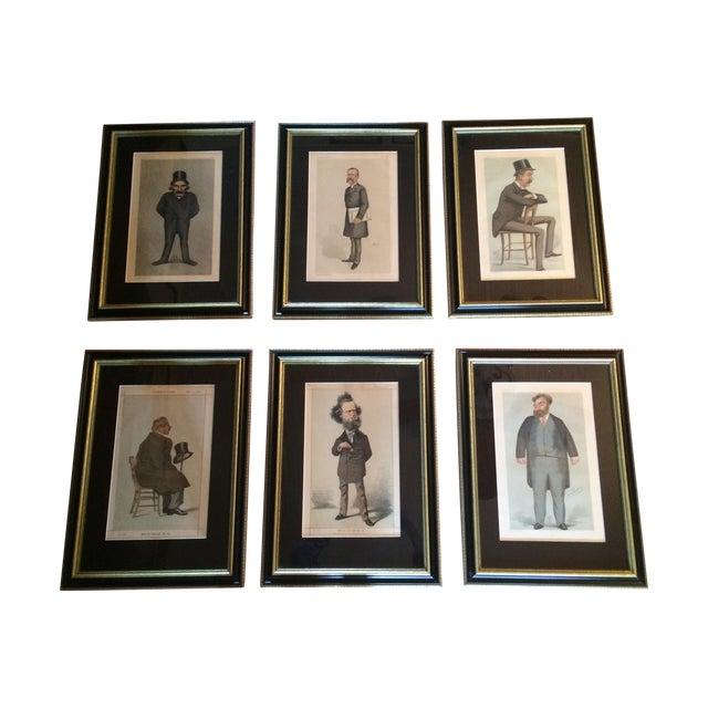 Original Vanity Fair Lithographs - Set of 6 - Image 1 of 11