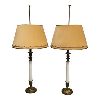 Mid Century Modern Lamps - a Pair