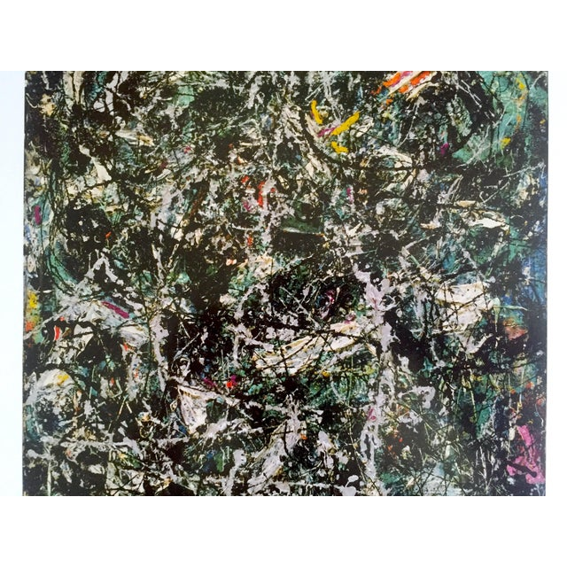 """2000 - 2009 Jackson Pollock Foundation Abstract Expressionist Collector's Lithograph Print """" Full Fathom Five """" 1947 For Sale - Image 5 of 12"""