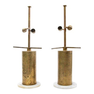 Pair of Angelo Brotto Lamps
