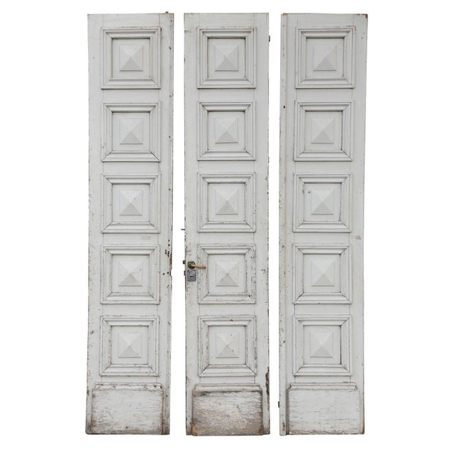 Three Antique French Doors For Sale - Image 11 of 11