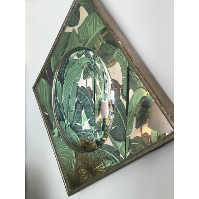 Silver Leaf Wall Mirrors- A Pair - Image 6 of 6
