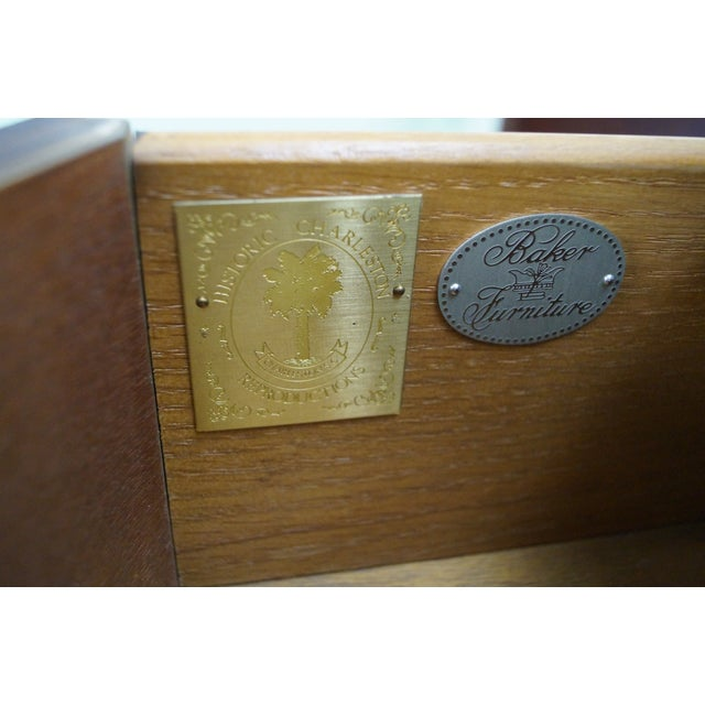 Baker Furniture Demilune Console - Image 5 of 10