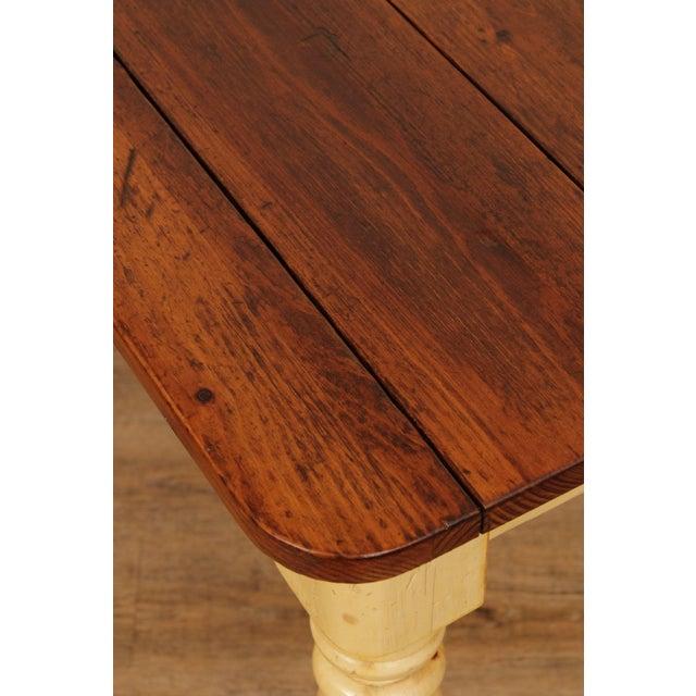 Ethan Allen Farmhouse Pine Dining Table Chairish