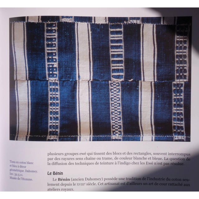 1920s Museum Quality West African Indigo Textile For Sale - Image 5 of 7