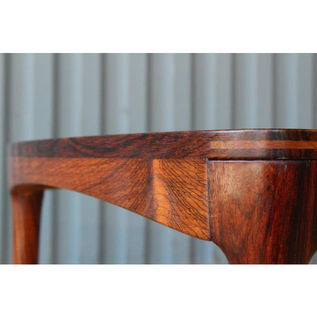 1960s Danish Rosewood Table, 1960s For Sale - Image 5 of 10