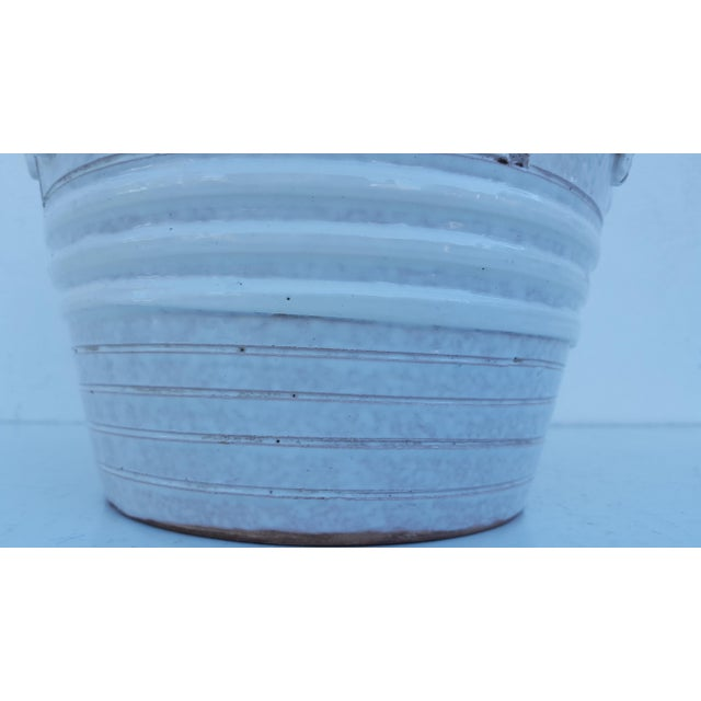 Italian Ceramic Planter Pot For Sale In Miami - Image 6 of 9
