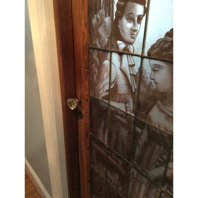 Antique Stained Glass Door For Sale - Image 4 of 9 - Antique Stained Glass Door Chairish