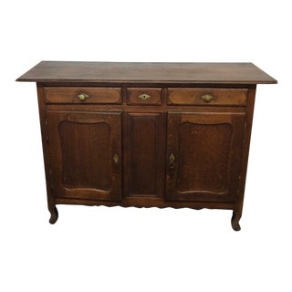 Early 20th Century French Antique Buffett/Sideboard For Sale