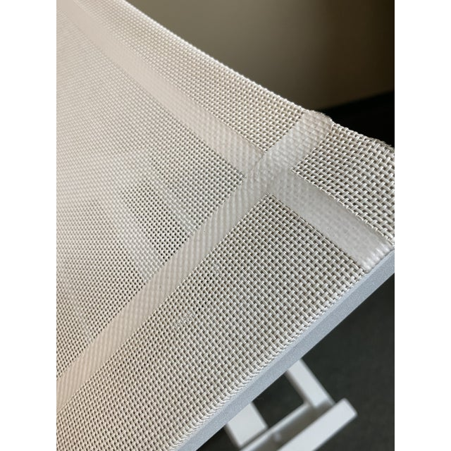 2010s Mamagreen Allux White Outdoor Lounger For Sale - Image 5 of 13