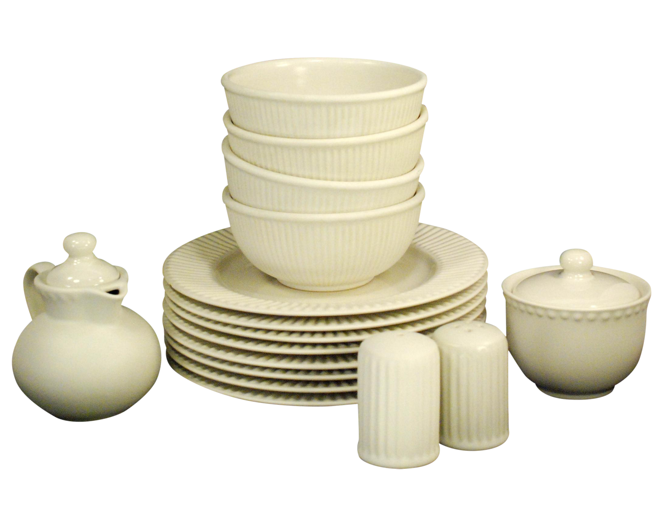 Dansk Rondure Rice White Dinnerware - S/18  sc 1 st  Chairish & Dansk Rondure Rice White Dinnerware - S/18 | Chairish