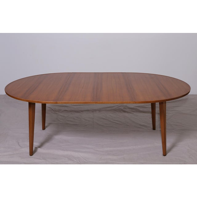 Bleached Mahogany Dining Table by Edward Wormley for Dunbar - Image 5 of 9