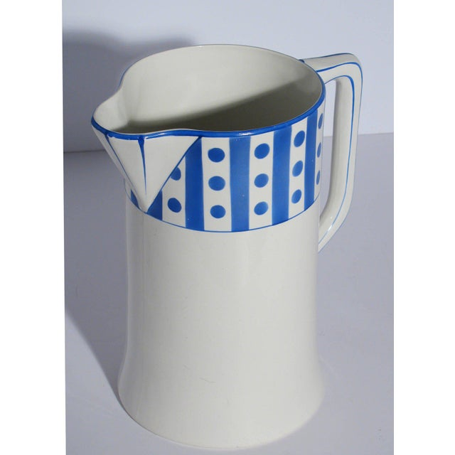 Large Belgian Porcelain Pitcher and Bowl - Image 2 of 9