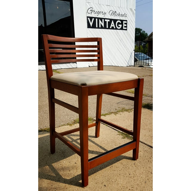 Contemporary Modern Ricchio Barstool by Knoll - Image 2 of 6