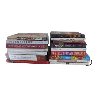 Assorted Nw & Vintage Cookbooks- 16 Pieces For Sale