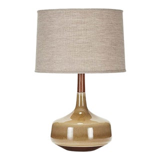 Hilo Lamp in River Stone Glaze For Sale